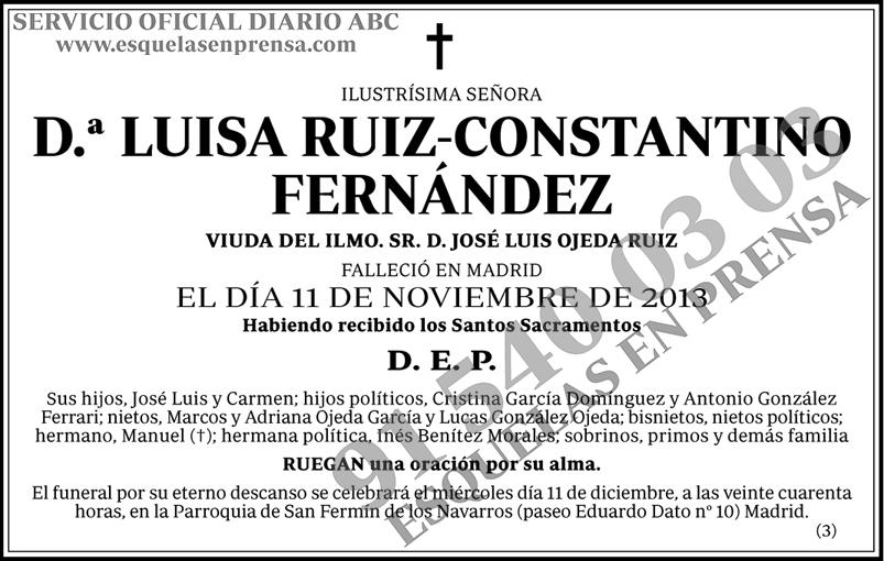 Luisa Ruiz-Constantino Fernández